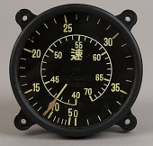 view Indicator, Airspeed, Japanese Army, Type-98, digital asset number 1