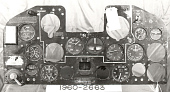 view Instrument Panel, P-47B digital asset number 1