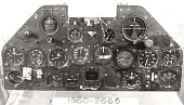 view Instrument Panel, XP-47J digital asset number 1