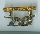 view Badge, Military Aviator, United States Army Signal Corps digital asset number 1