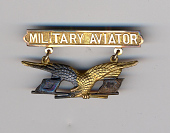 view Badge, Military Aviator, United States Signal Corps digital asset number 1