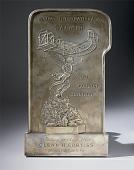 view Plaque, James Gordon Bennett, 1909, Glenn Curtiss digital asset number 1