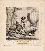 view Le Ballon enflâmer, ou la grande troupe des Animaux curieux qui ont fait le divertissement de la Ville et de la Cour digital asset number 1