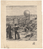 view Gambetta Sort de Paris-1870 digital asset number 1