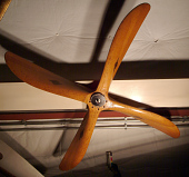 view American Propeller & Mfg Co. Paragon Propeller, fixed-pitch, four-blade, wood digital asset number 1