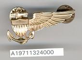 view Badge, Lighter than Air Pilot, United States Navy digital asset number 1