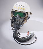 view Helmet, Flying, Experimental, National Advisory Committee for Aeronautics digital asset number 1