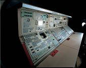 view Instructor Operator Station, Central Section, Command Module Simulator, Apollo digital asset number 1