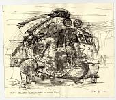 view MS-4 Helicopter on Hangar Deck digital asset number 1