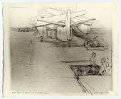 view Flight Deck of Hornet with Sunbathers digital asset number 1