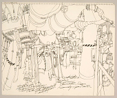view Drawing, Pen and Ink on Paper digital asset number 1