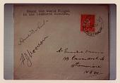 view Envelope, Amelia Earhart, Signature digital asset number 1