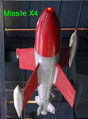 view Missile, Air-to-Air, X-4 digital asset number 1