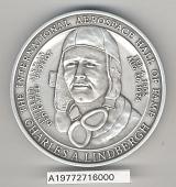 view Case, Presentation, Medals, Commemorative, Charles A. Lindbergh Golden Jubilee digital asset number 1