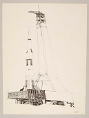 view Spacecraft on Platform with Arming Tower digital asset number 1