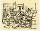 view Drawing, Conté Crayon on Paper digital asset number 1