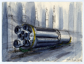 view S 1 Booster, M.S.F.C. digital asset number 1