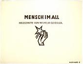view Mensch Im All, Holzschnitte Von Wilhelm Geissler digital asset number 1