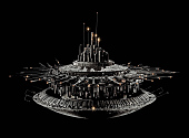 "view Model, Spacecraft, Mother Ship, Movie, ""Close Encounters Of The Third Kind"" digital asset number 1"