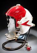 view Helmet, Flying, Protective, Type HGU-30/P or VTAS I, United States Navy digital asset number 1