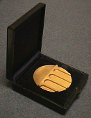 view Case, Medal, Gold, Fifth Founders, National Academy of Engineering, 1970 digital asset number 1