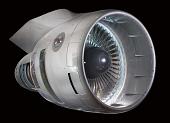 view Pratt & Whitney JT9D-1GT2 Turbofan Engine, Cutaway digital asset number 1