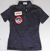 view Crew Shirt, In-Flight Suit, Shuttle, Sally Ride, STS-7 digital asset number 1