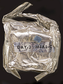 view Space Food, Meal Package, Day 3, Meal C, Apollo 11 (Blue) digital asset number 1