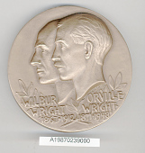 view Box, Medal, New York University Hall of Fame, Gen. Charles Yeager digital asset number 1