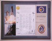 view Plaque, Letter/Flag/Patch, STS-30 digital asset number 1