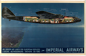 view Imperial Airways - An Ensign Airliner for European Services digital asset number 1