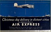 view Christmas Day Delivery in Distant Cities via American Airways Air Express digital asset number 1