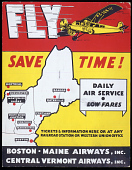 view Boston-Maine Airways, Inc. Central Vermont Airways, Inc. Fly Save Time! digital asset number 1