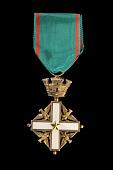 view Medal, Order Of Merit, Italian Republic digital asset number 1