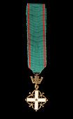 view Medal, Miniature, Order of Merit, Italian Republic digital asset number 1