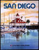 view United Airlines San Diego digital asset number 1