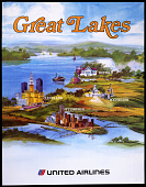 view United Airlines Great Lakes digital asset number 1