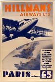 view Hillman's Airways Ltd. Paris digital asset number 1