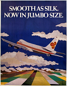 view Thai Airlines Smooth as Silk. Now in Jumbo Size. digital asset number 1