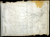 view Airline Map of the United States 1949 digital asset number 1
