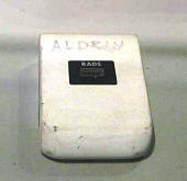 view Dosimeter, Passive Radiation, Personal, Aldrin, Apollo 11 digital asset number 1
