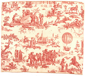 view Texile, Fabric, Toile de Jouy, Balloon Print digital asset number 1