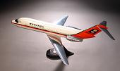 view Model, Static, Douglas DC-9-10, Bonanza Air Lines digital asset number 1