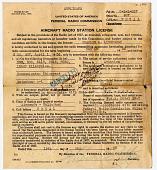 view License, Aircraft Radio Station, C. A. Lindbergh, Lockheed Sirius Tingmissartoq digital asset number 1