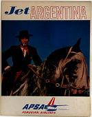 view APSA Peruvian Airlines Jet Argentina digital asset number 1