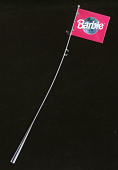 view Flag and Pole, Barbie, Astronaut, Toys R Us digital asset number 1