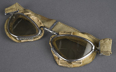 view Goggles, Flying, Regia Aeronautica, Felice Figus digital asset number 1