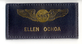 view Name Tag, Shuttle Astronaut (Ochoa) (Flown) digital asset number 1