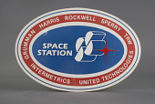 view Sign, Space Station Concept, Rockwell group digital asset number 1