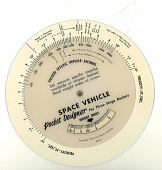 view Slide Rule, Space Vehicle Pocket Designer digital asset number 1